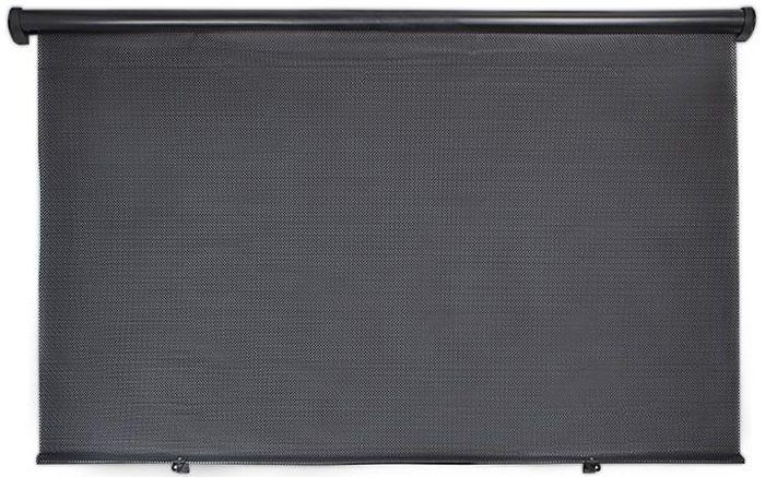 цена на Шторка на заднее стекло DolleX, цвет: черный, 100 x 57 см