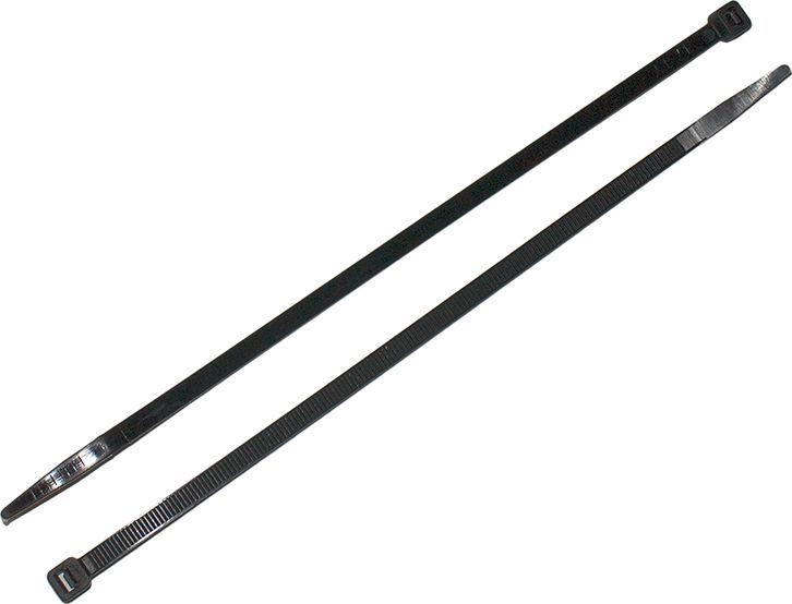 Хомут-стяжка DolleX, цвет: черный, 8 х 300 мм, 100 шт хомут стяжка 4 2х300 мм нейлон цвет белый 4 шт