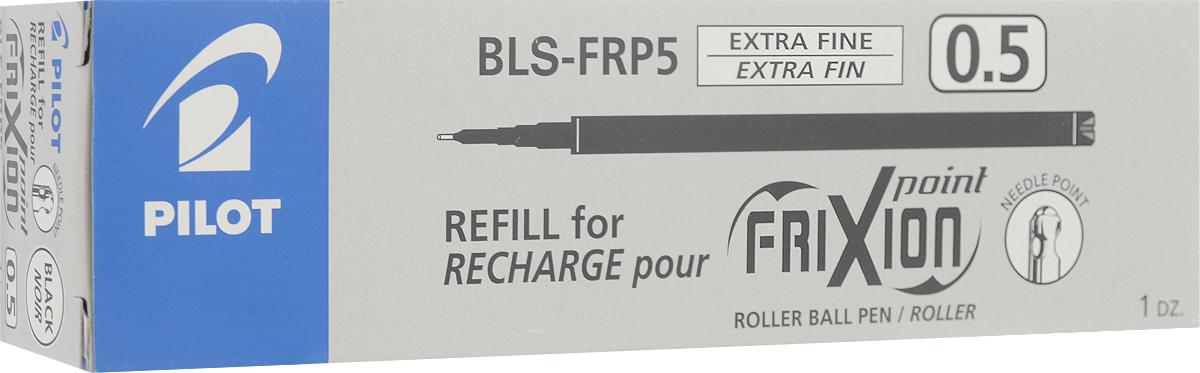 Pilot Набор стержней для гелевой ручки Frixion цвет черный 12 шт