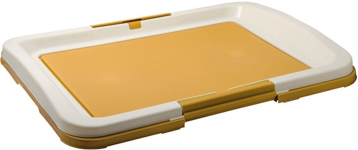 """Туалет для собак V.I.Pet """"Японский стиль"""", цвет: бежевый, 63 х 49 х 6 см"""