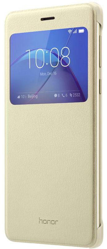 Huawei Smart Cover чехол для Honor 6X, Gold цена в Москве и Питере