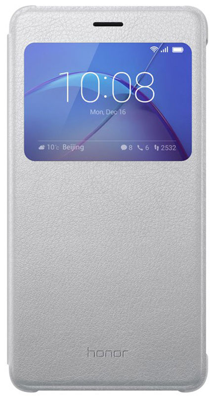 Huawei Smart Cover чехол для Honor 6X, Silver цена в Москве и Питере