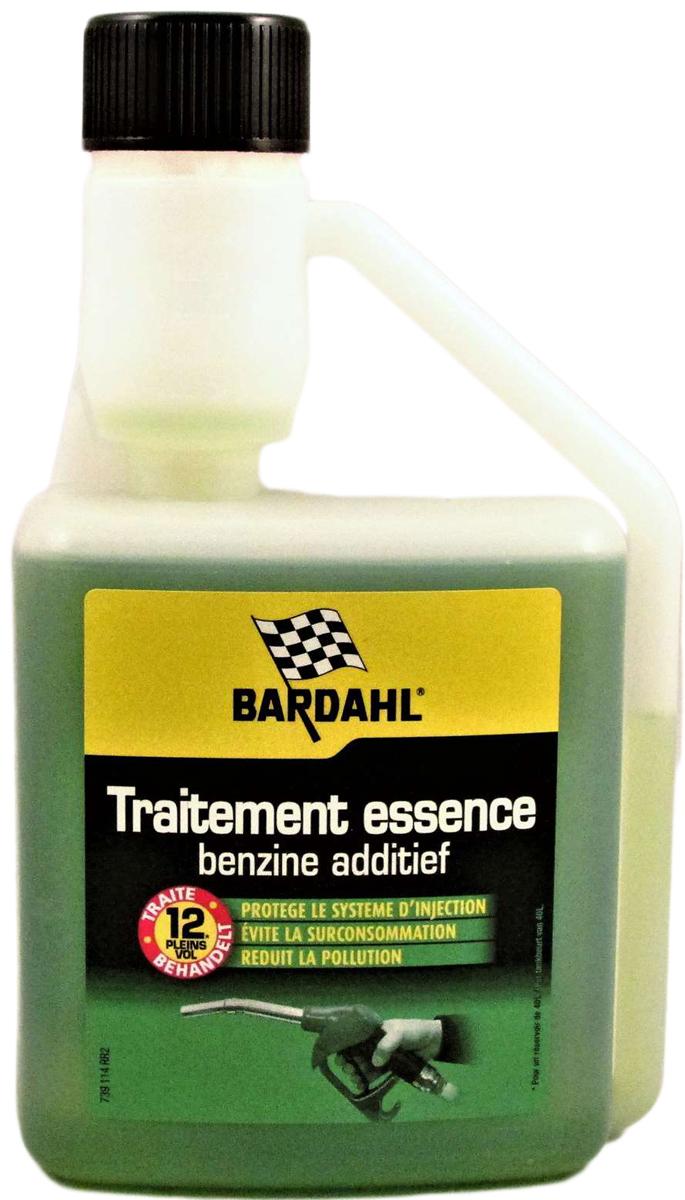 Добавка многофункциональная Bardahl Concentrated Fuel Preventive Treatment, в бензин, концентрат, 500 мл для автомобиля требуется 9 литров бензина на 100 км пути