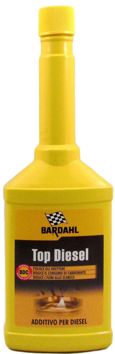 Присадка топливная Bardahl Top Diesel, для дизельных двигателей, 250 мл антигель для дизельного топлива eltrans суперконцентрат на 120 240 л 340 мл