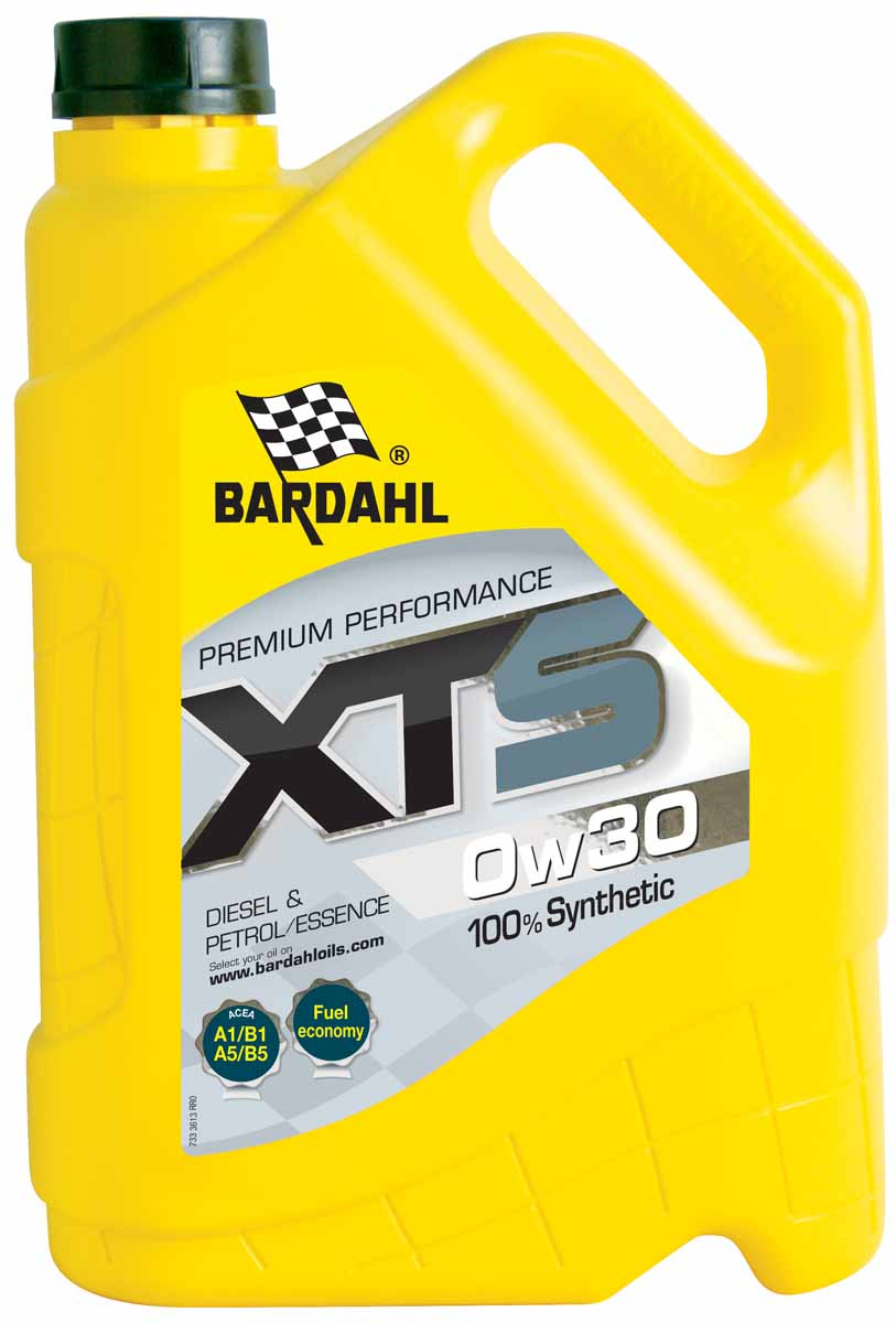 "Масло моторное Bardahl ""XTS"", синтетическое, 0W-30, 5 л"