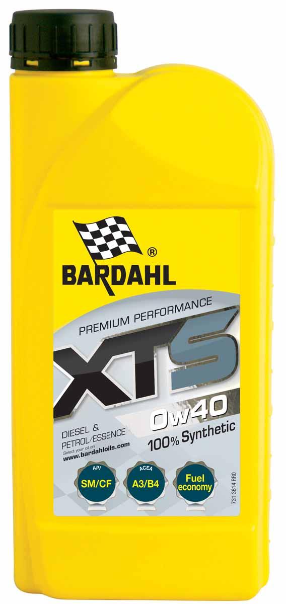 "Масло моторное Bardahl ""XTS"", синтетическое, 0W-40, 1 л"