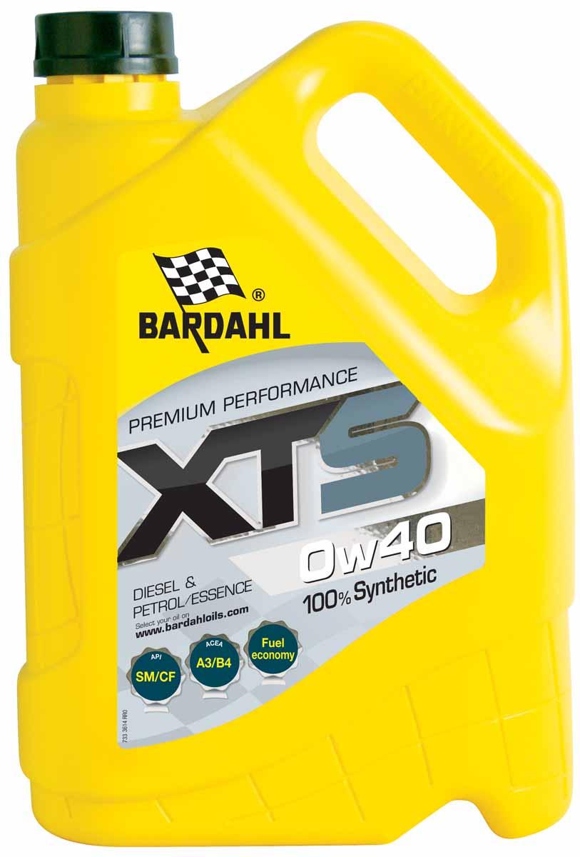 "Масло моторное Bardahl ""XTS"", синтетическое, 0W-40, 5 л"