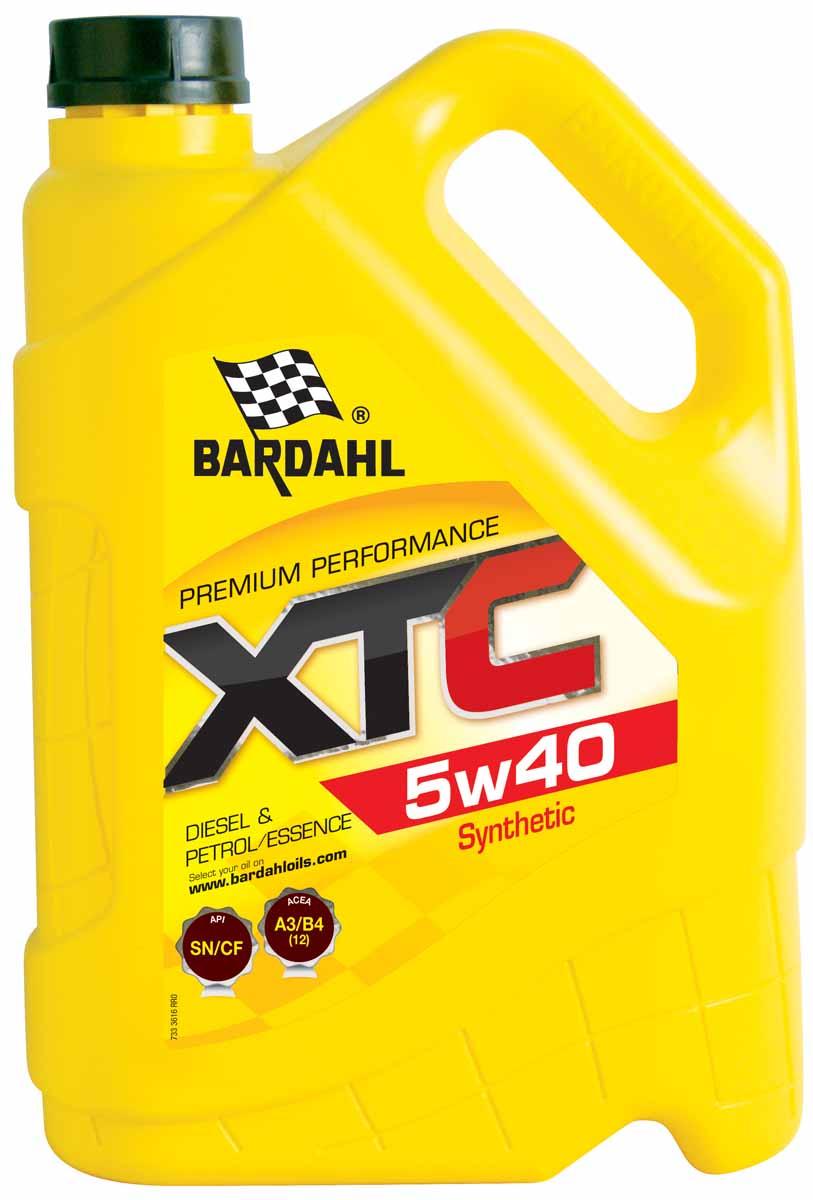 Моторное масло Bardahl 5W-40, 5 л 36163