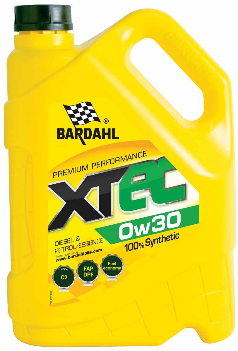 """Масло моторное Bardahl """"XTEC"""", синтетическое, 0W-30, 5 л"""