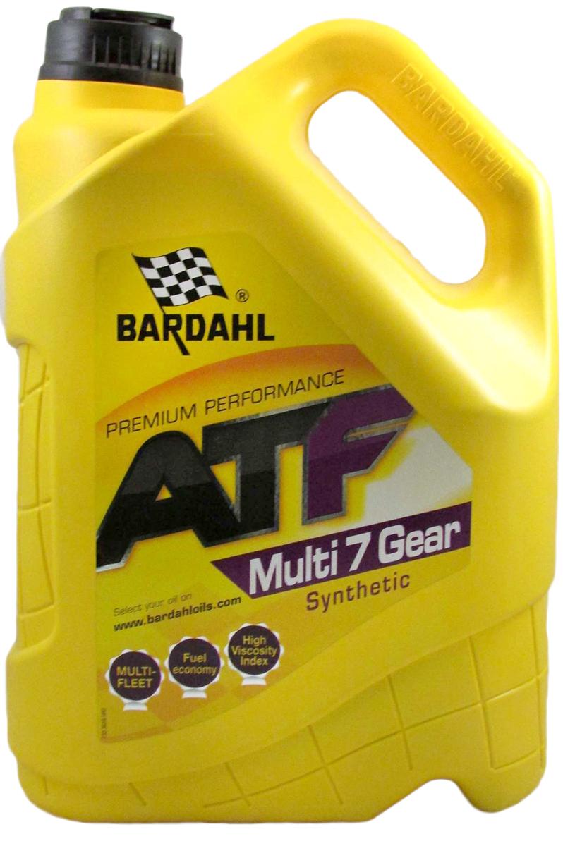 """Масло трансмиссионное Bardahl """"Multi ATF 7"""", синтетическое, 5 л"""