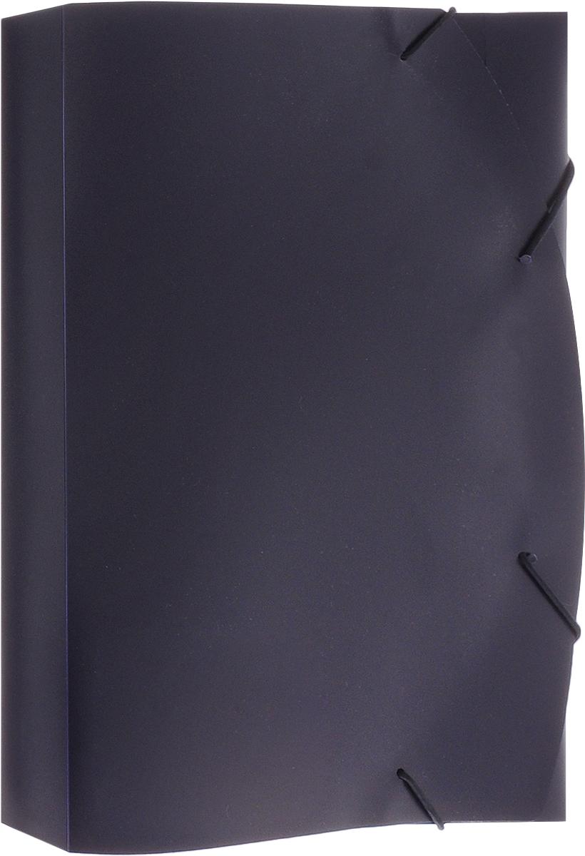 Albion Папка на резинке Basic цвет синий AL10925