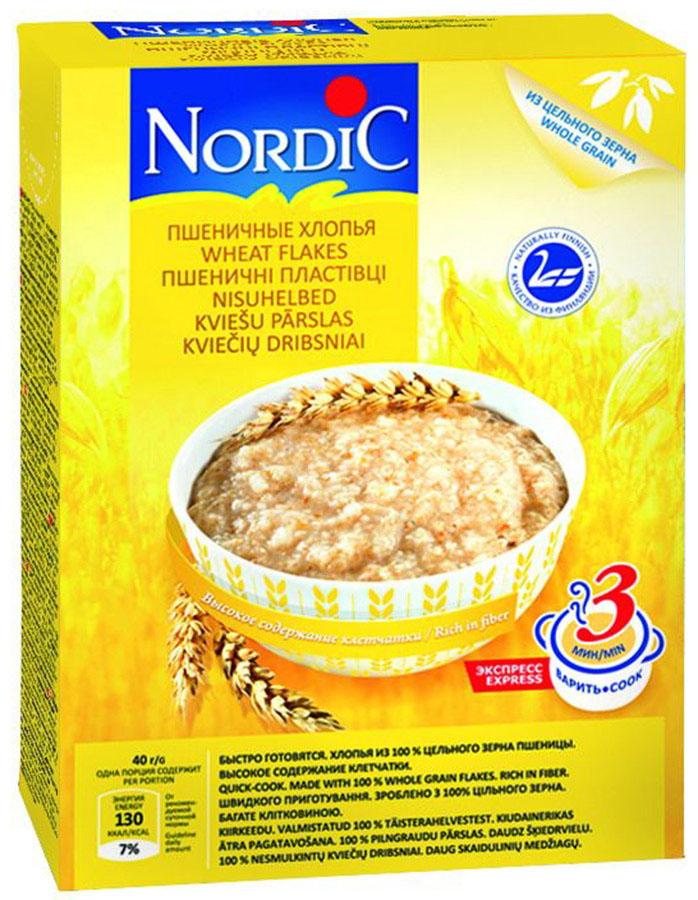 Nordic хлопья пшеничные, 600 г nordic хлопья пшенные 350 г