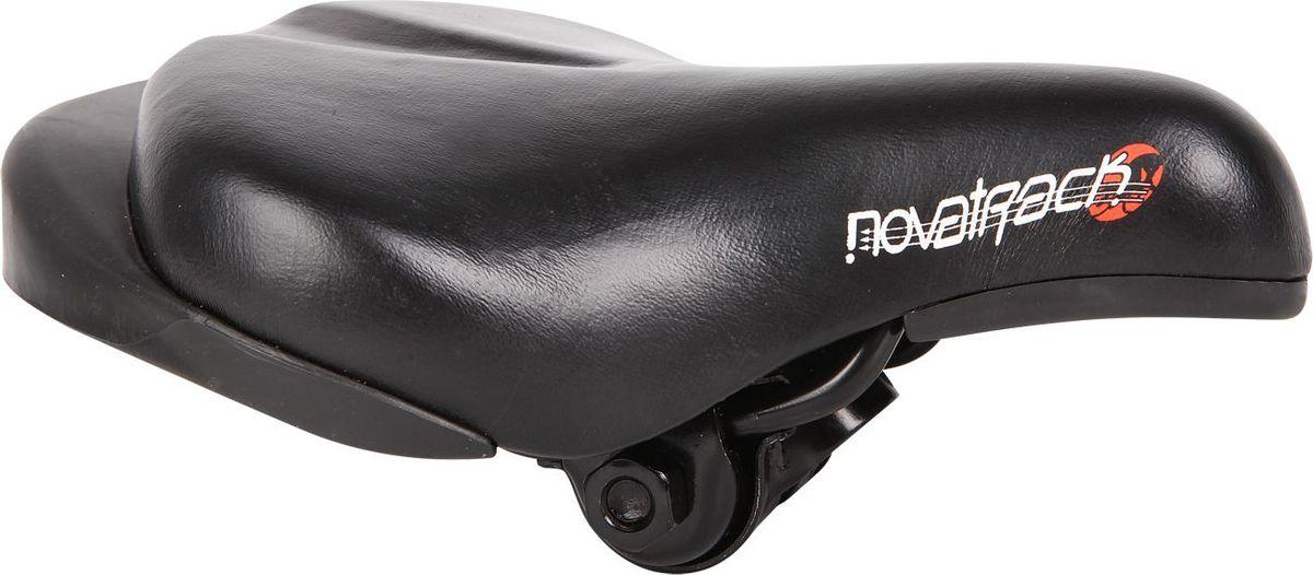 цена на Седло велосипедное STG WХ-12888 Novatrack, для 12 и 14, цвет: черный