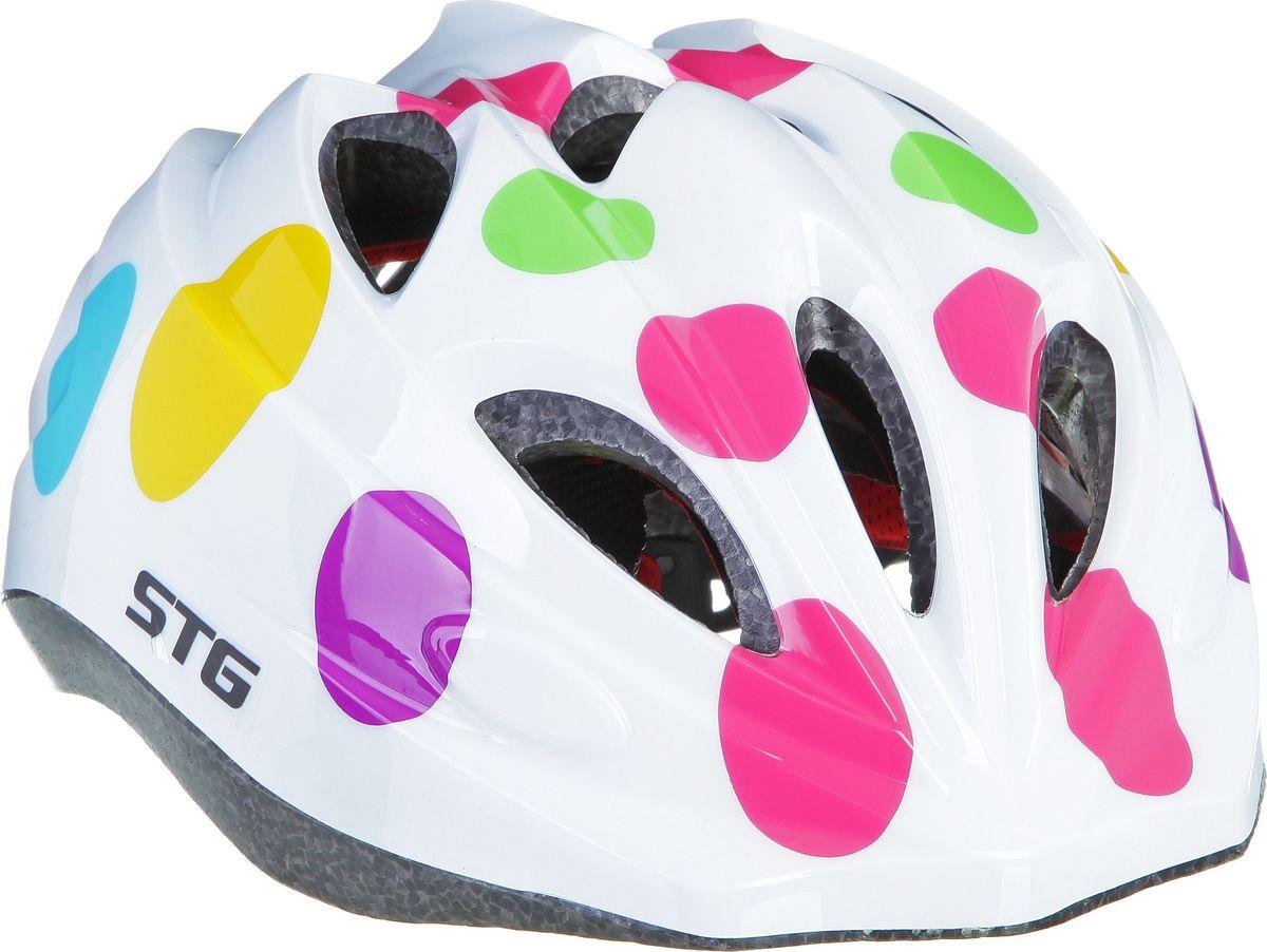 Шлем велосипедный STG HX-Y01A, размер S/M защита обуви для катания на беговеле puky красная