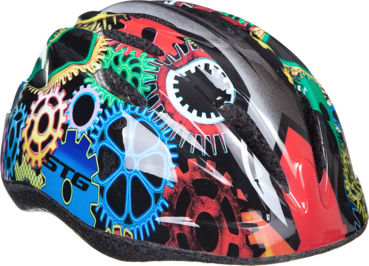 Шлем STG HB6-3-C. Размер XS (44-48 см) защита обуви для катания на беговеле puky красная