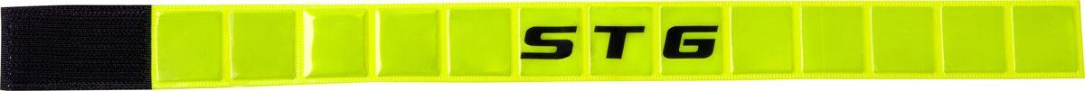 Браслет светоотражающий STG 43444-Y, на липучке светоотражающий браслет альпиндустрия альпиндустрия 30