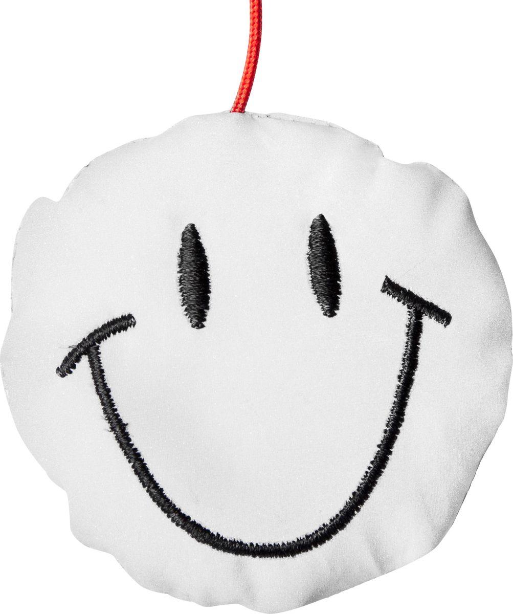 Светоотражатель пешеходный STG Смайлик, цвет: белый, черный