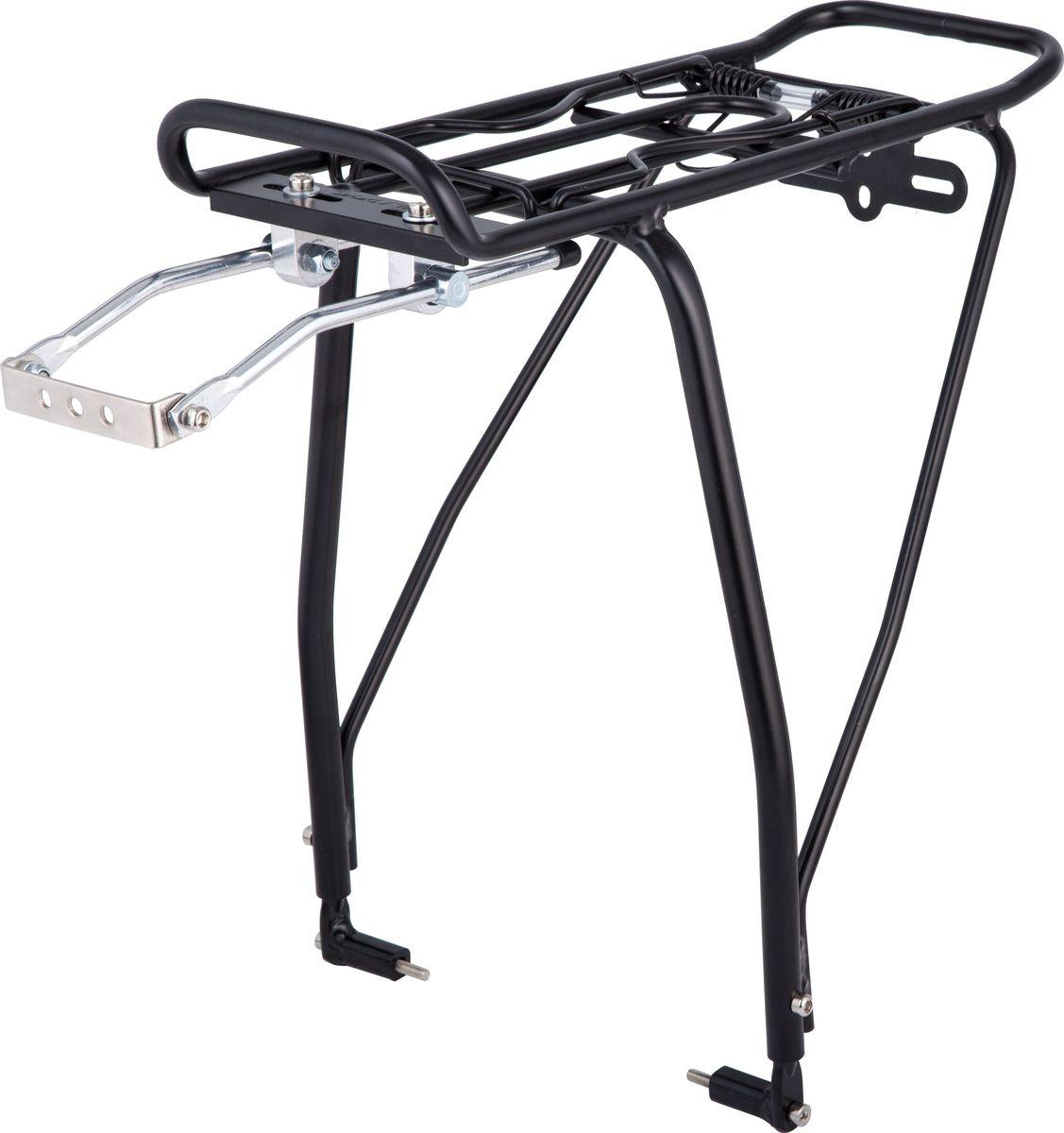 Багажник для велосипеда STG KWA-624-05, задний, под дисковые тормоза, цвет: черный, 26-29 тормоза для велосипеда avid elixir e1