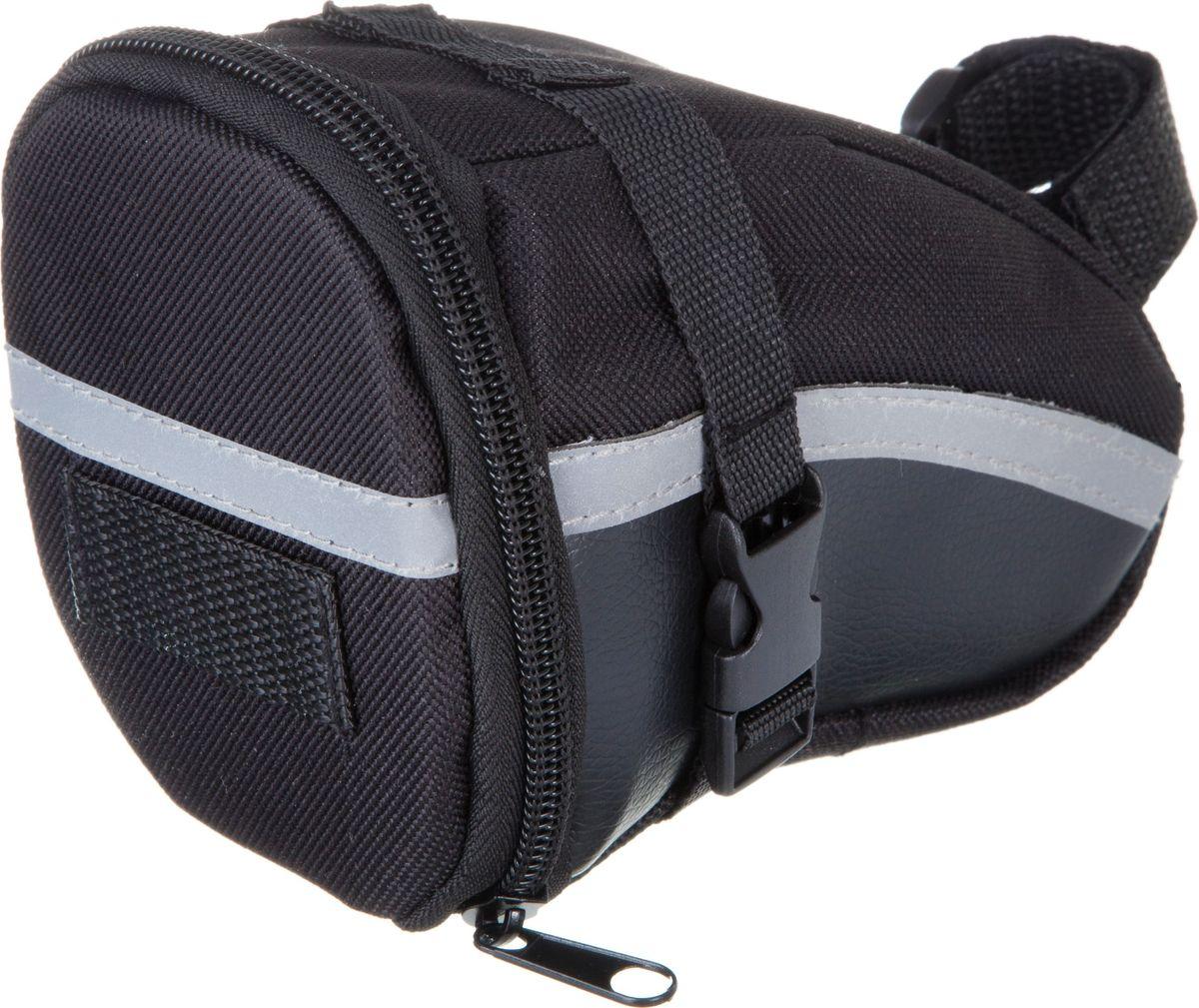 Велосумка STG 13196, под седло, цвет: черный. Х83840