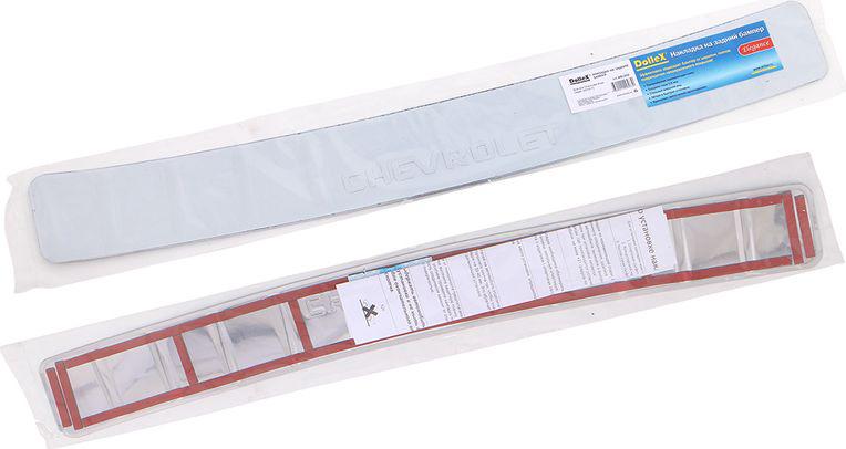 Накладка бампера декоративная DolleX, для CHEVROLET Aveo седан (2012->) липкая лента bondage tape