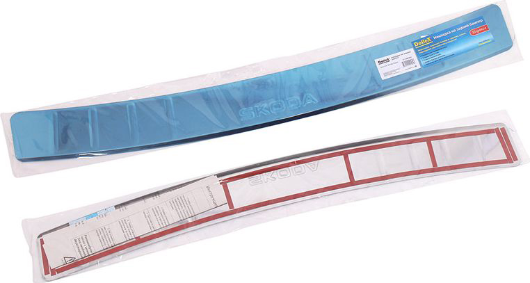Накладка бампера декоративная DolleX, для SKODA Rapid липкая лента bondage tape