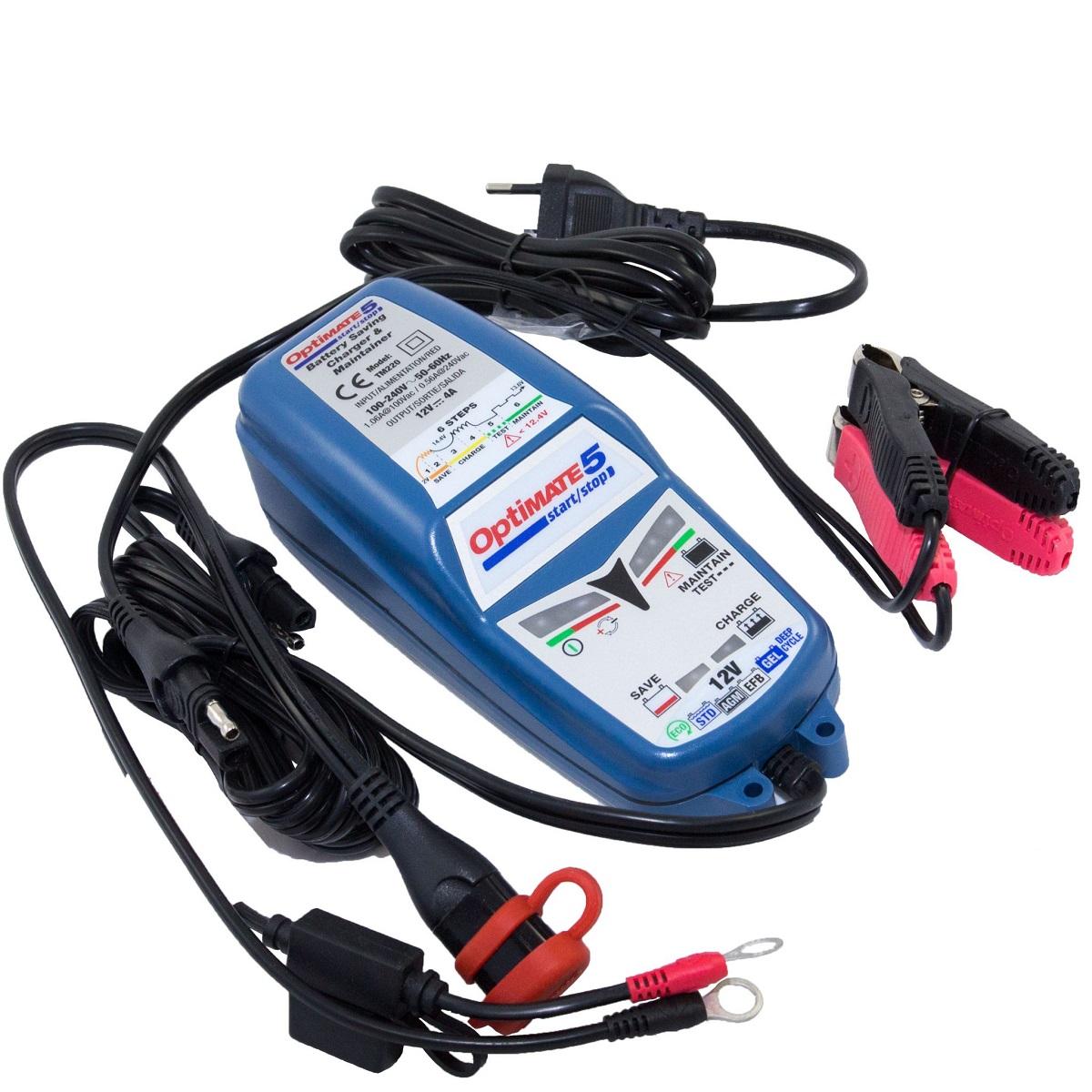 Зарядное устройство OptiMate 5 4А Start-Stop. TM220 устройство optimate 5 tm220