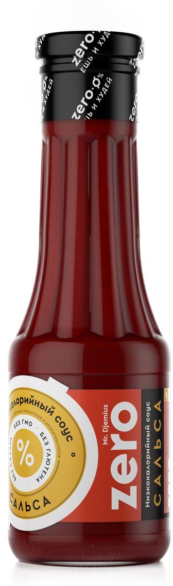 Mr. Djemius Zero низкокалорийный соус Сальса, 330 мл цена