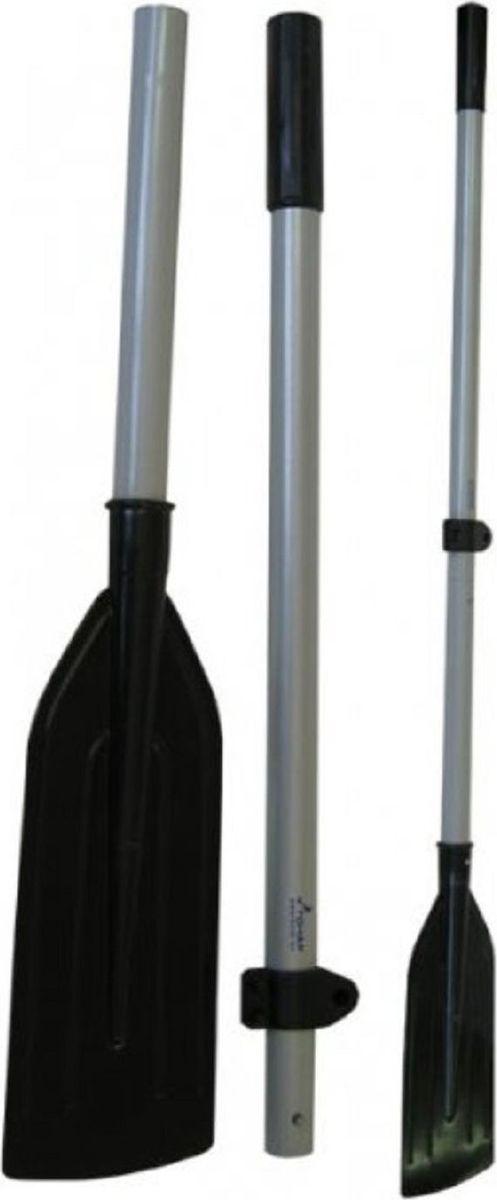 Весло Тонар, под уключину, 1,6 м, цвет: черный, стальной втулка весла тонар поворотая
