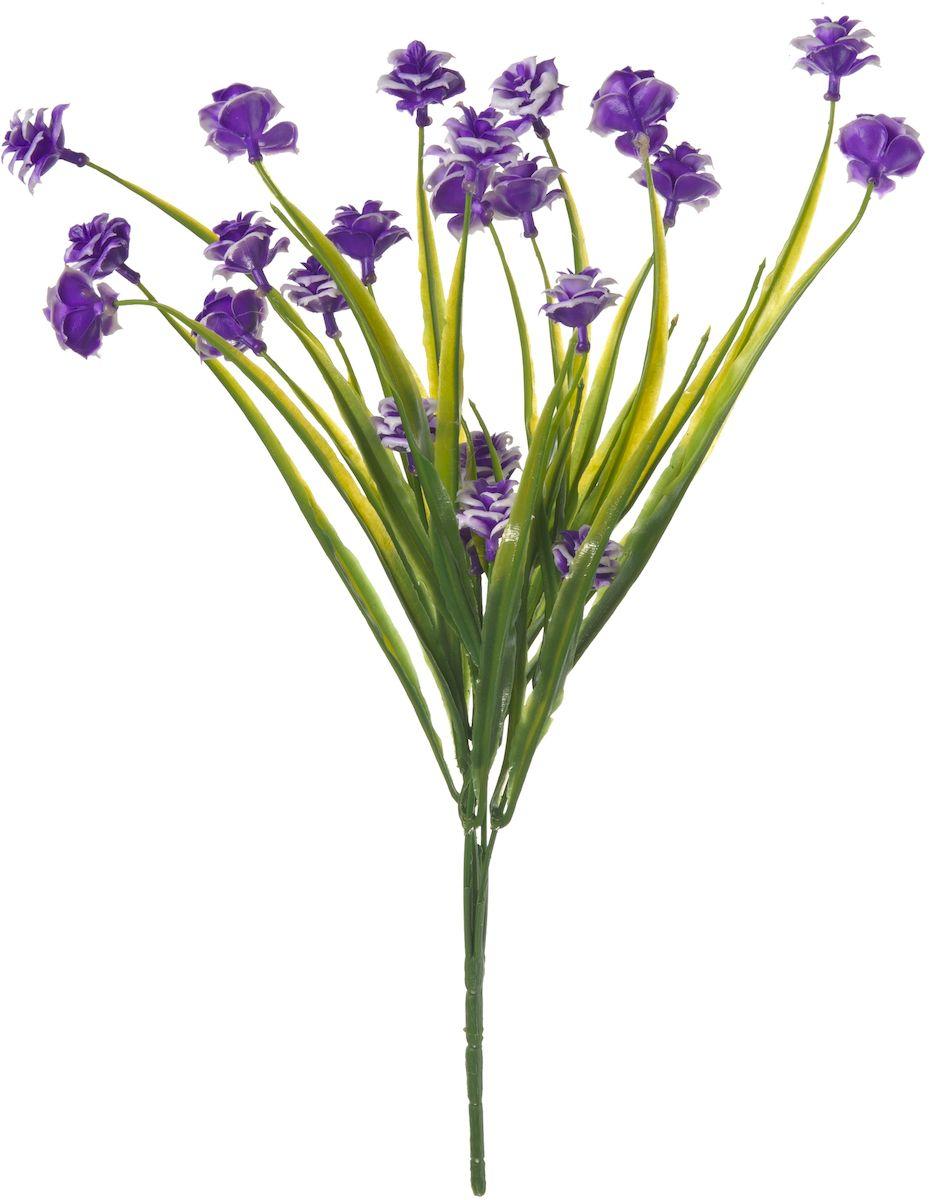 Цветы искусственные Engard Лунный цветок, цвет: фиолетовый, 35 см цветы искусственные engard лесная фиалка цвет фиолетовый высота 15 см 10 шт