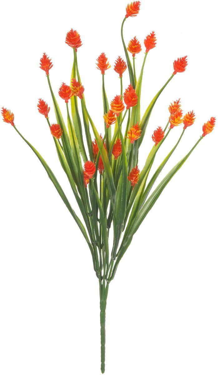 Цветы искусственные Engard Снежноягодник, цвет: оранжевый, высота 35 см цветы искусственные engard лесная фиалка цвет фиолетовый высота 15 см 10 шт