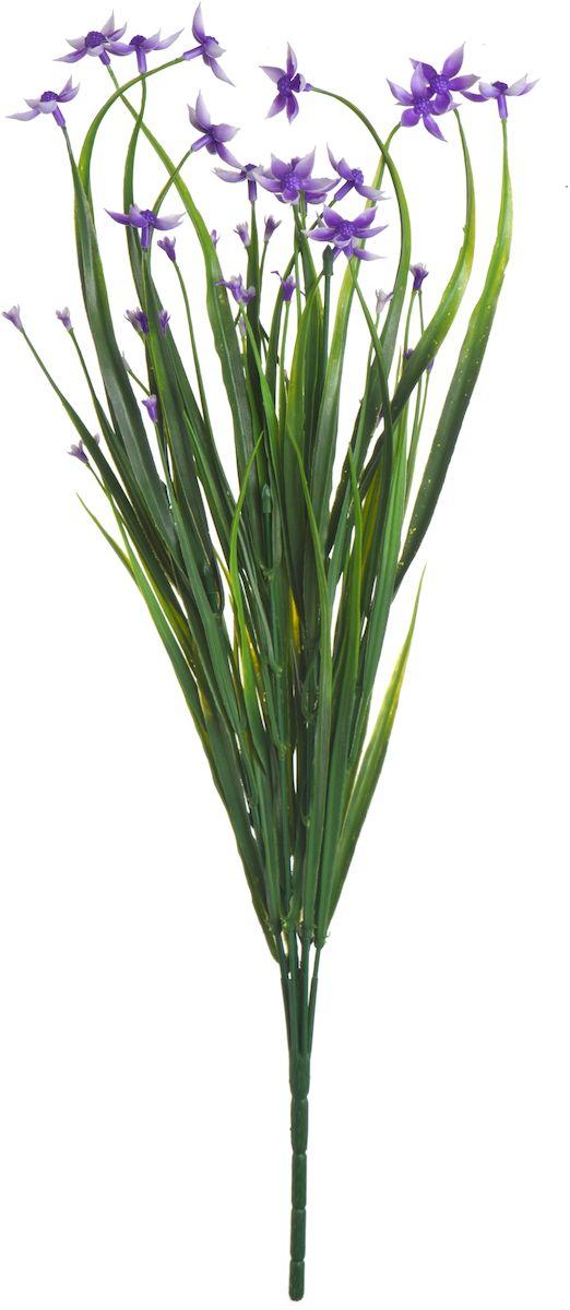 Цветы искусственные Engard Птицемлечник, цвет: фиолетовый, высота 45 см цветы искусственные engard лесная фиалка цвет фиолетовый высота 15 см 10 шт