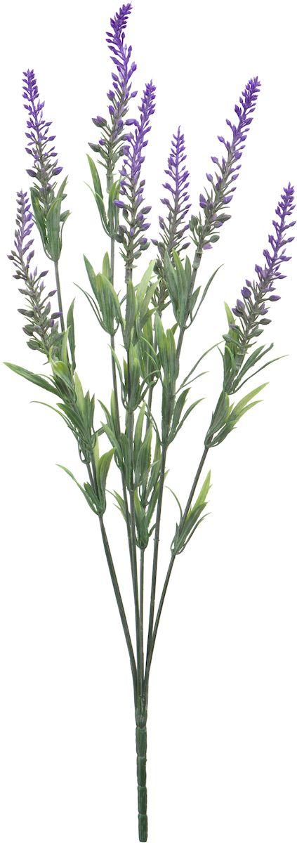 Цветы искусственные Engard Вереск, цвет: сиреневый, высота 45 см цветы искусственные engard лесная фиалка цвет фиолетовый высота 15 см 10 шт