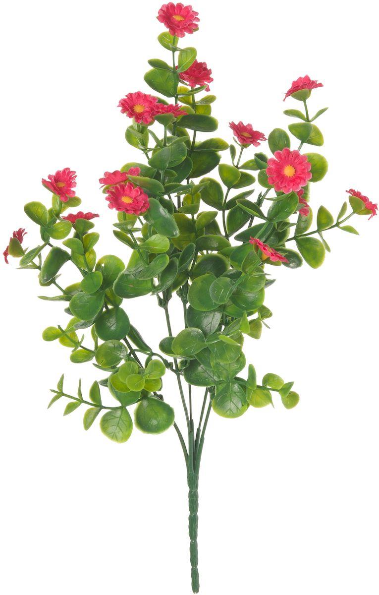 Цветы искусственные Engard Полевой цветок, цвет: красный, высота 30 см цветы искусственные engard лесная фиалка цвет фиолетовый высота 15 см 10 шт