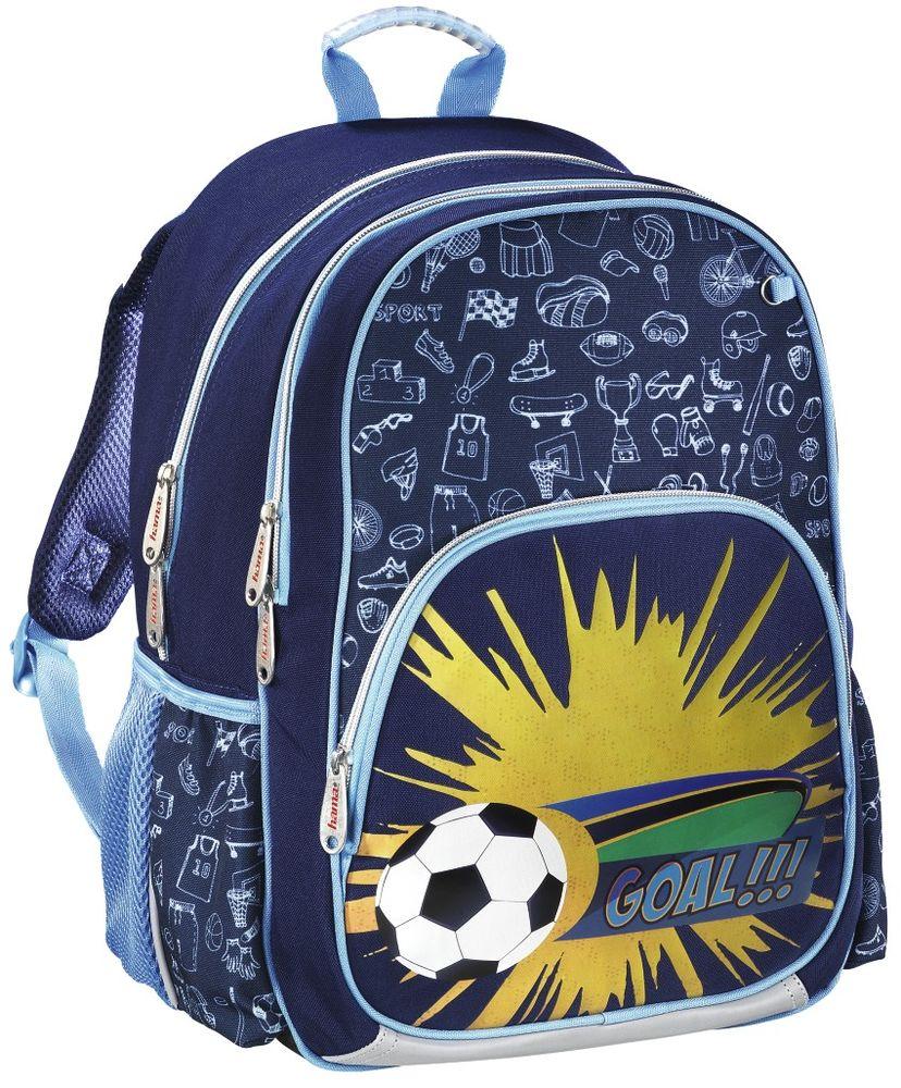 Hama Ранец школьный Soccer 139082 цена и фото