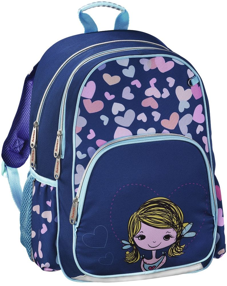 Hama Ранец школьный Lovely Girl 139091 цена и фото