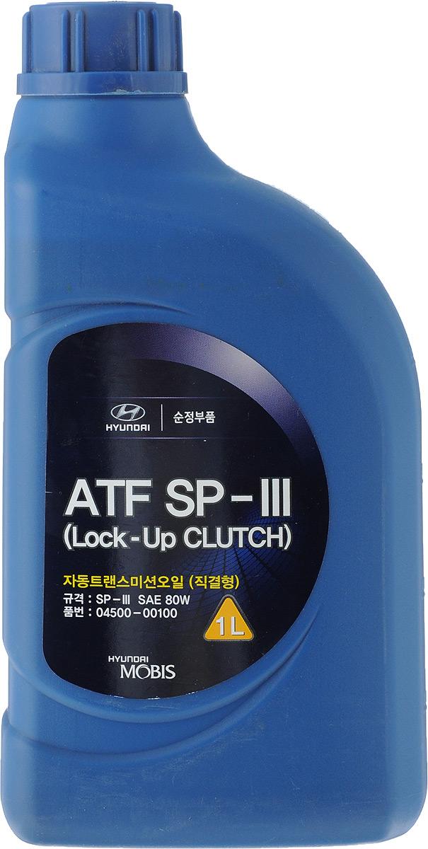Трансмиссионное масло Hyundai Mobis 1 л 04500-00100 масло трансмиссионное teboil fluid s синтетическое atf sp ii sp iii 1 л