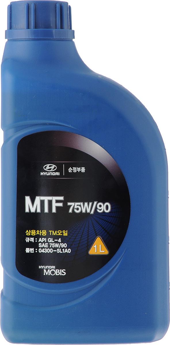 Масло трансмиссионное МКПП Hyundai / KIA MTF GL4, класс вязкости 75W90, 1 л цена