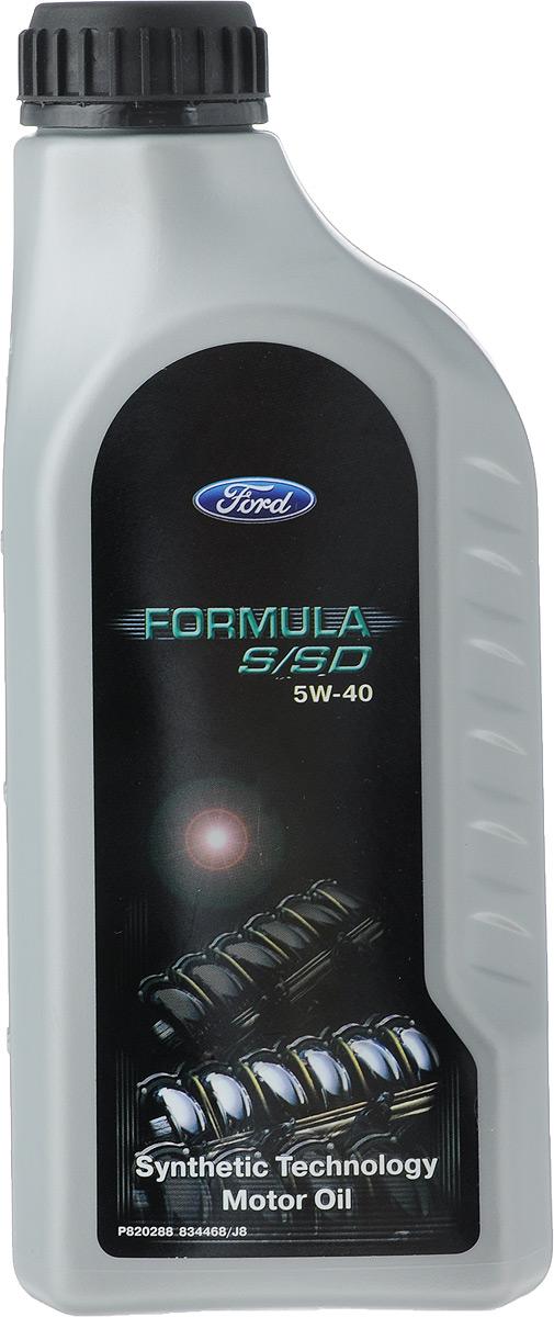 """Моторное масло Ford """"Formula"""", синтетическое, 5W-40, 1 л"""
