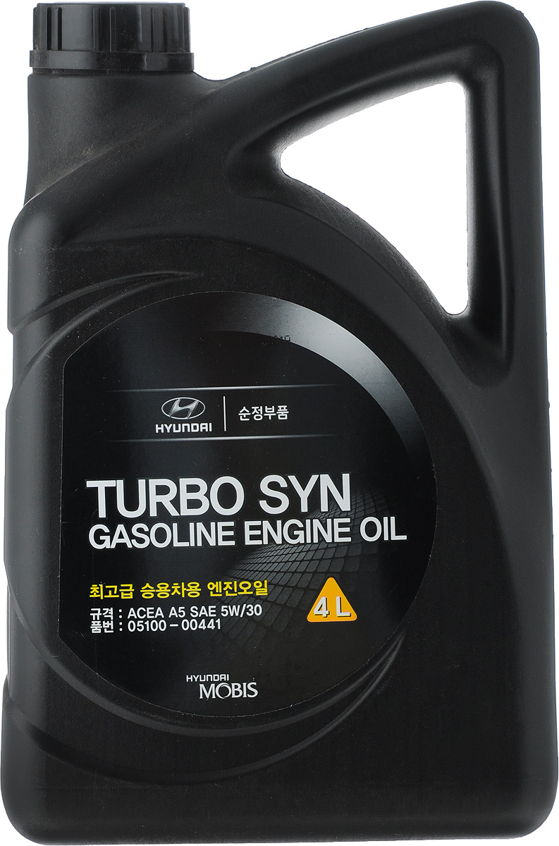 "Моторное масло Hyundai / KIA ""TURBO SYN"", SM/GF-4, класс вязкости 5W-30, 4 л"