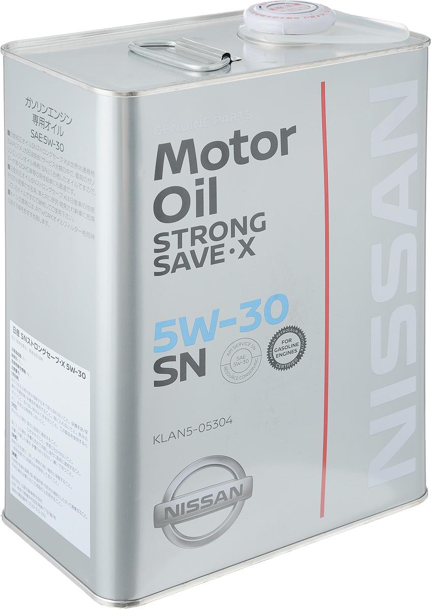 "Масло моторное Nissan ""Strong Save X"", класс вязкости 5W30, 4 л"