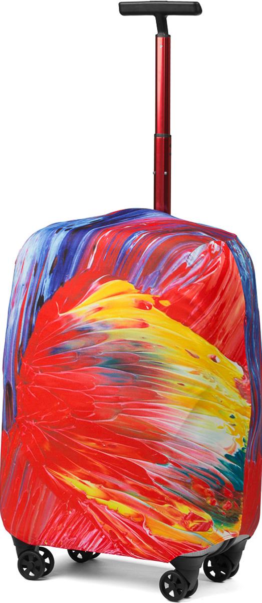 Чехол для чемодана RATEL Краски дня. Размер L (высота чемодана: 75-85 см) цена