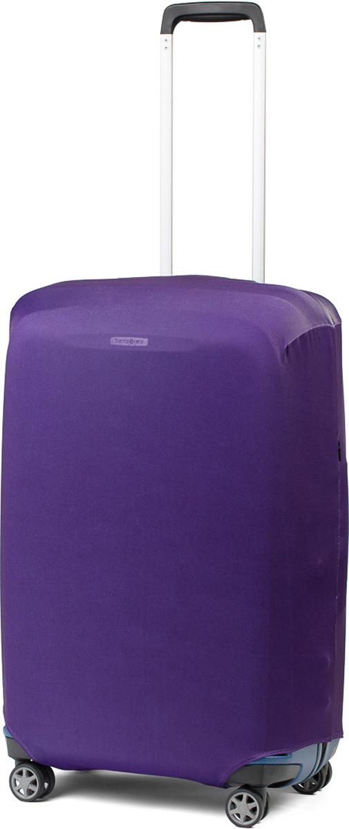 Чехол для чемодана RATEL Фиолетовый. Размер M (высота чемодана: 65-75 см) цена