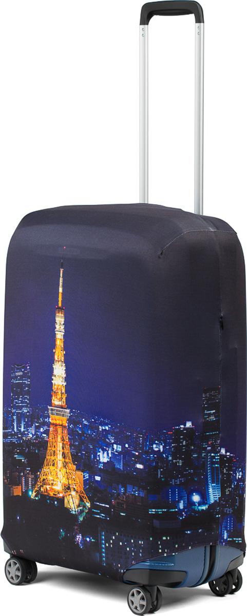 Чехол для чемодана RATEL Париж. Размер L (высота чемодана: 75-85 см) цена