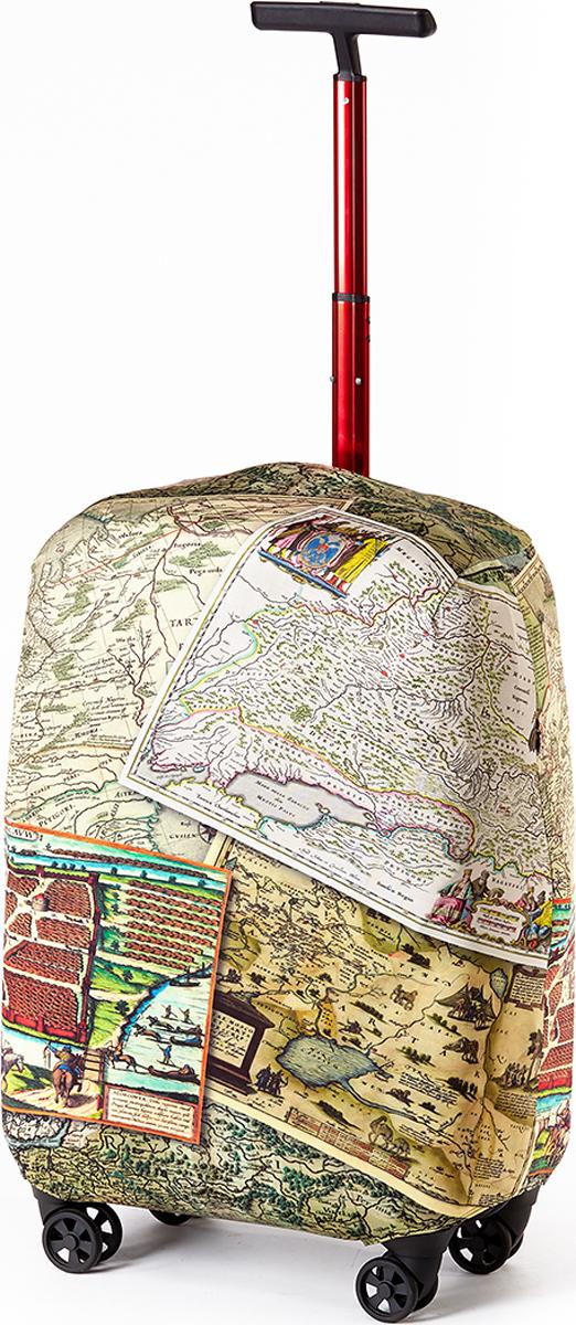 Чехол для чемодана RATEL Карта. Размер L (высота чемодана: 75-85 см) цена