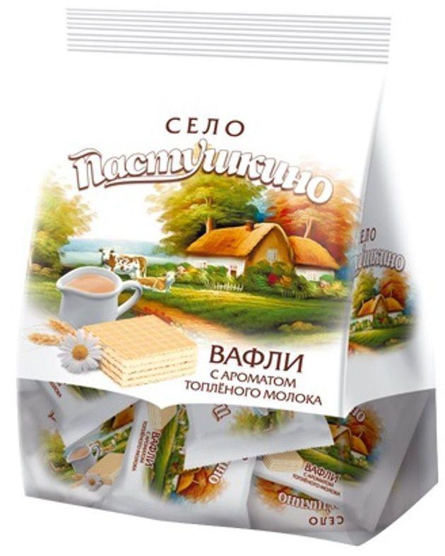 Село Пастушкино вафли с ароматом топленого молока, 250 г цена 2017