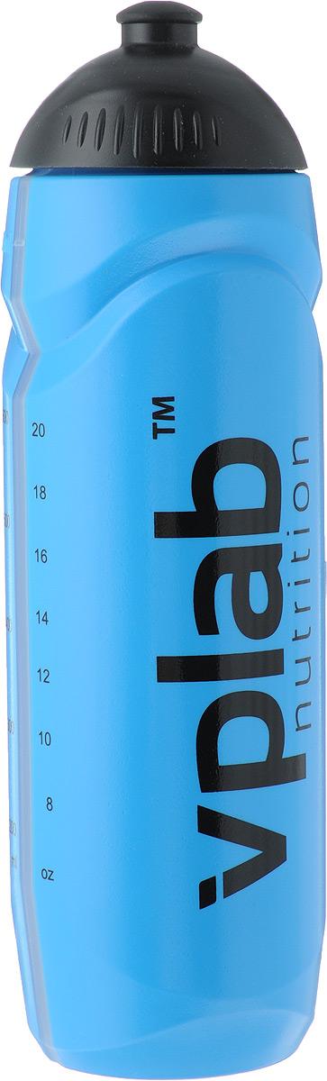 """Бутылка спортивная """"VP Laboratory"""", цвет: синий, 0,75 л"""