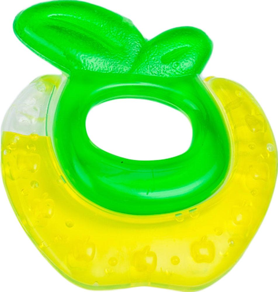 Canpol Babies Прорезыватель охлаждающий Яблочко цвет желтый canpol babies прорезыватель уточка от 0 месяцев цвет желтый