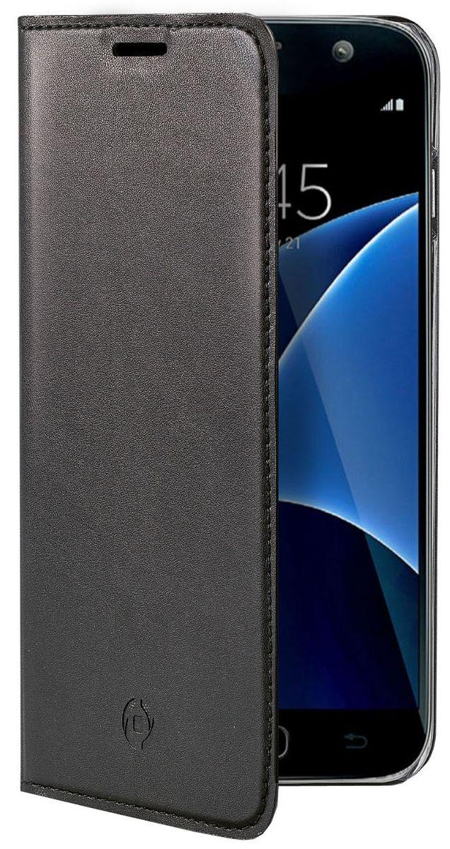 Celly Air Case чехол для Samsung Galaxy J7 (2017), Black стоимость