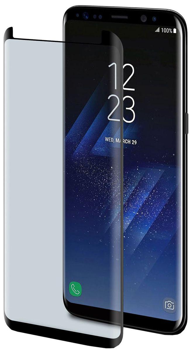 Celly Full Glass защитное стекло для Samsung Galaxy S8, Black аксессуар защитное стекло для samsung galaxy s8 media gadget 3d full cover glass full glue black frame mg3dgsgs8fgbk