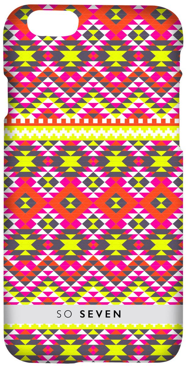 So Seven Inca Drawning Motif чехол для Apple iPhone 7 Plus/8 Plus, Yellow so seven cannes чехол для apple iphone 8 7